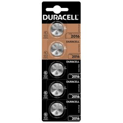 Duracel CR-2016 5 pcs