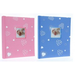 DBCS20 Baby Heart 40 white parchment pages