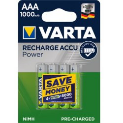 Akumulator Varta R03 800 mAh 4 szt.