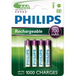 Akumulator Philips R6 1300 mAh 4 szt.