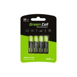 Akumulator Green Cellr R6 2000 mAh 4 szt.