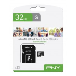 Karta SD micro 32 GB PNY + adapter UHS-I 100 MB/s