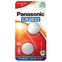 Bateria Panasonic CR 2032 2szt.