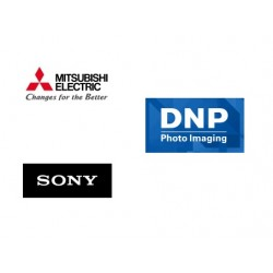 Mitsubishi, DNP, Sony printer maintenance service