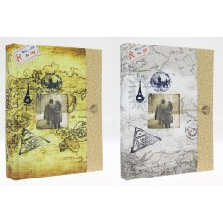 Album KD46200 Travel 6 H 10x15 cm 200 zdj. szyty z miejscem na opis