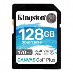 Karta SD 128 GB Kingston Canvas Go Plus 170/90MB/s CL10 U3 V30