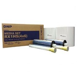"DNP RX1HS Media Set 4x6"" 1400 Prints"