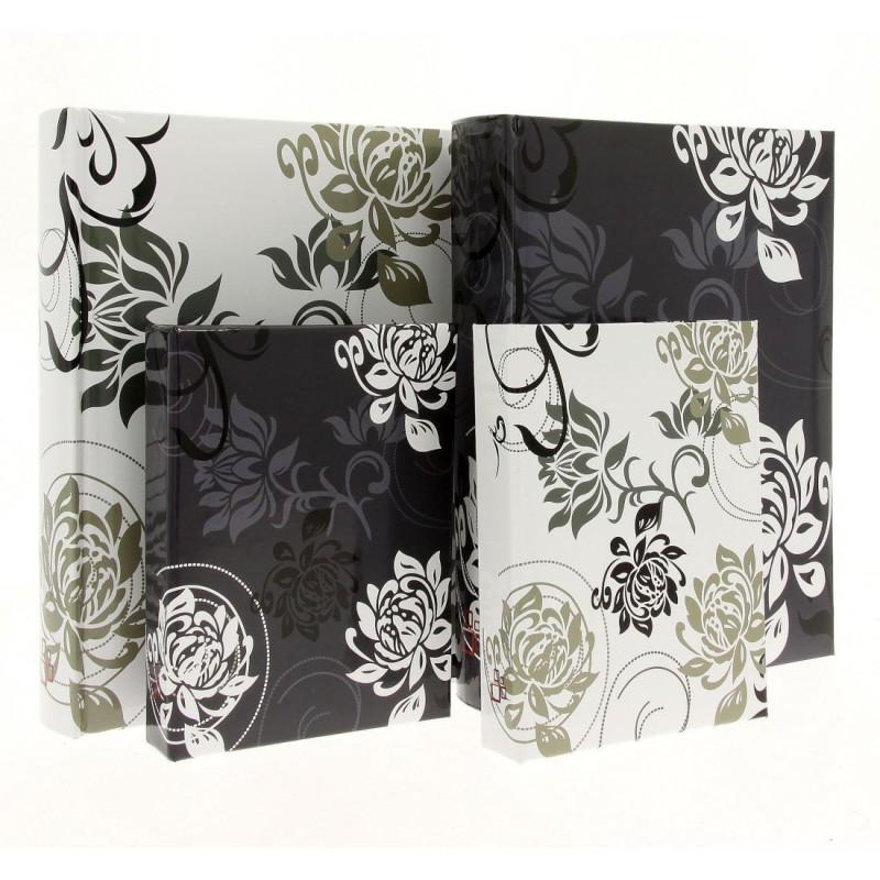 Album B57100 Black&White - 13 x 18 cm, szyty, z miejscem na opis