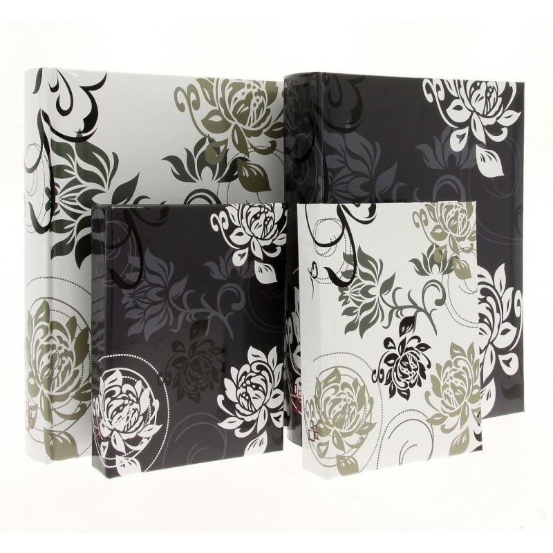 B46500 Black & White - pocket, sewed, with description