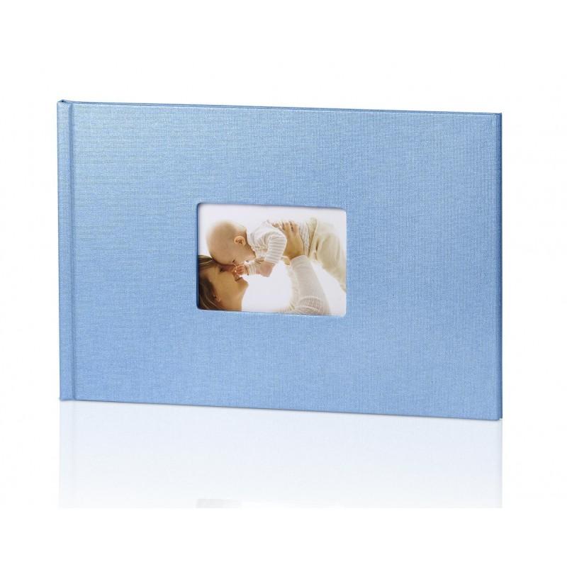Fotoksiążka BL- okładka 20x30cm Błękitna