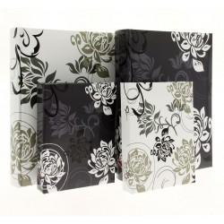 Album B6850 Black&White - 15x21 cm, szyty, z miejscem na opis