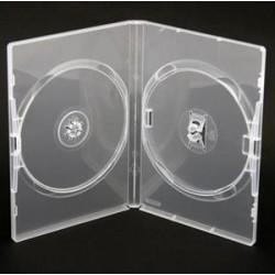 Pudełko DVD x 2 bezbarwne