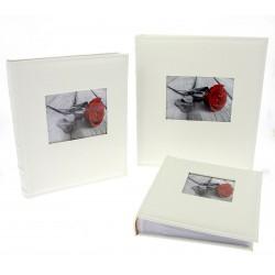 Album DBCL50 White W B 100 str. pergaminowy czarne strony