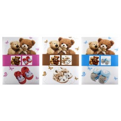 B46100 Bear - 10 x 15 cm, 100 pictures, sewed
