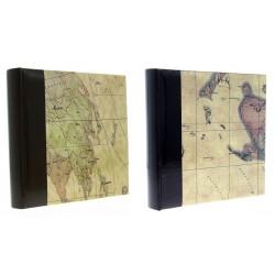 Album KD46200 Maps 10x15 cm 200 zdj. szyty z miejscem na opis