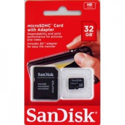 Karta SD micro 32 GB SanDisk + adapter