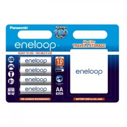 Akumulator Eneloop R6 1900 mAh 4 szt+ etui