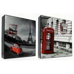 Album CR46500WB Red 500 zdj. 10 X 15 cm w pudełku
