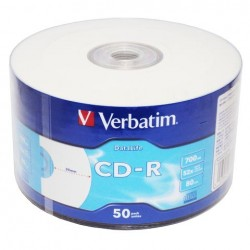 CD-R do nadruku Verbatim AZO szpindel 50szt.